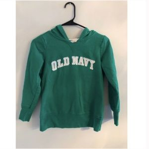 Women's XS Green Old Navy Hoodie